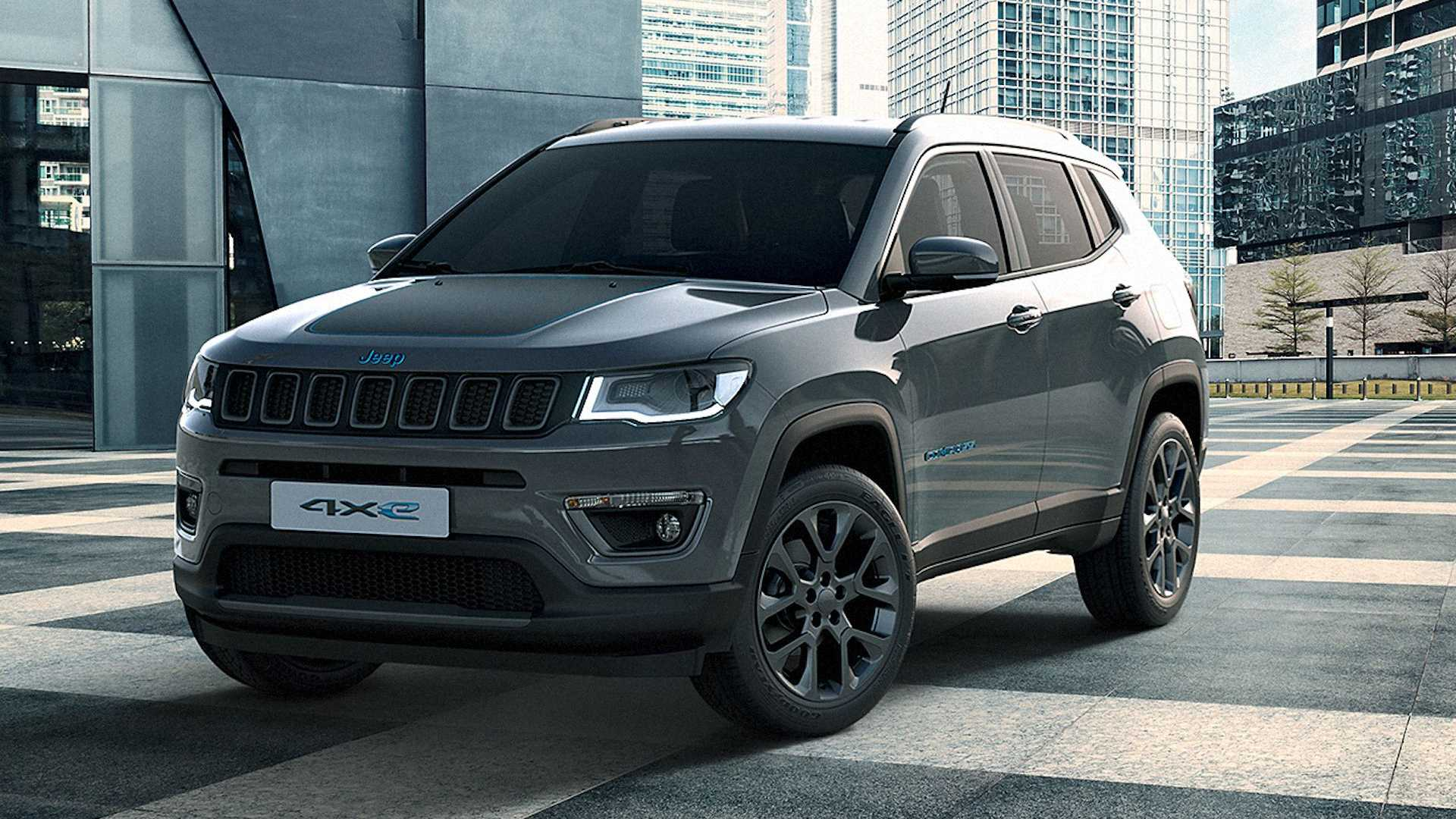 COMING SOON Jeep Compass 4xe (hybrid)
